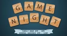 Game Night Scrabble(tm) Logo